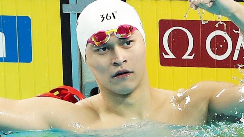 Lawyers for banned Chinese swimmer Sun Yang have dismissed the CAS verdict as 'lies'. (Photo by Lintao Zhang/Getty Images)