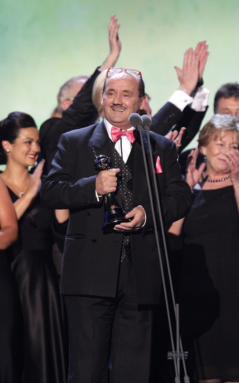 Brendan O'Carroll at the National Television Awards - Credit: Yui Mok/PA