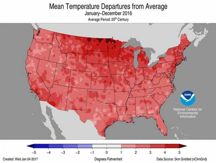 Temperatures reached unprecedented levels across the country.