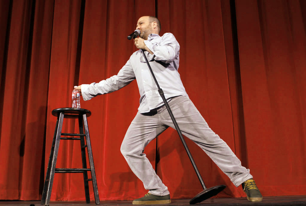 "Cast member H. Jon Benjamin performs during ""Bob's Burgers Live!""  at the WIlshire Ebell Theatre on Tuesday, May 7 in Los Angeles, CA."