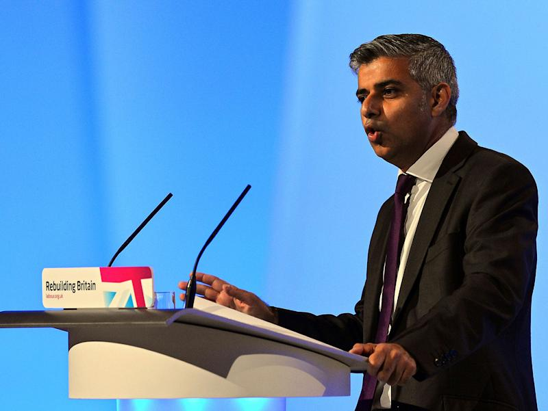 Sadiq Khan has asked for fresh powers from the government to impose a rent freeze (Getty)