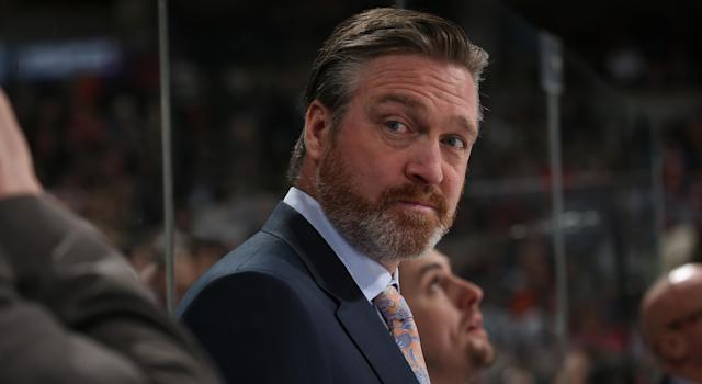 Would Patrick Roy's swagger and charisma translate to a television audience? There's only one way to find out. (Photo by Michael Martin/NHLI via Getty Images)