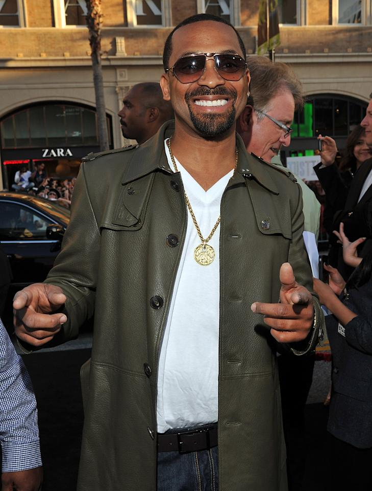 """<a href=""""http://movies.yahoo.com/movie/contributor/1800353629"""">Mike Epps</a> attends the Los Angeles premiere of <a href=""""http://movies.yahoo.com/movie/1810187722/info"""">The Hangover Part II</a> on May 19, 2011."""
