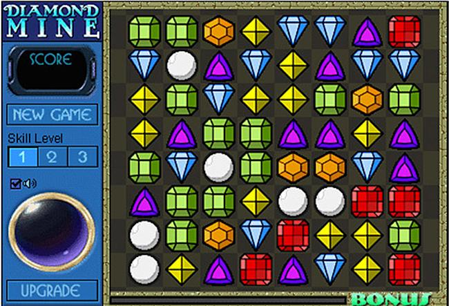 diamond mine 23 bejeweled