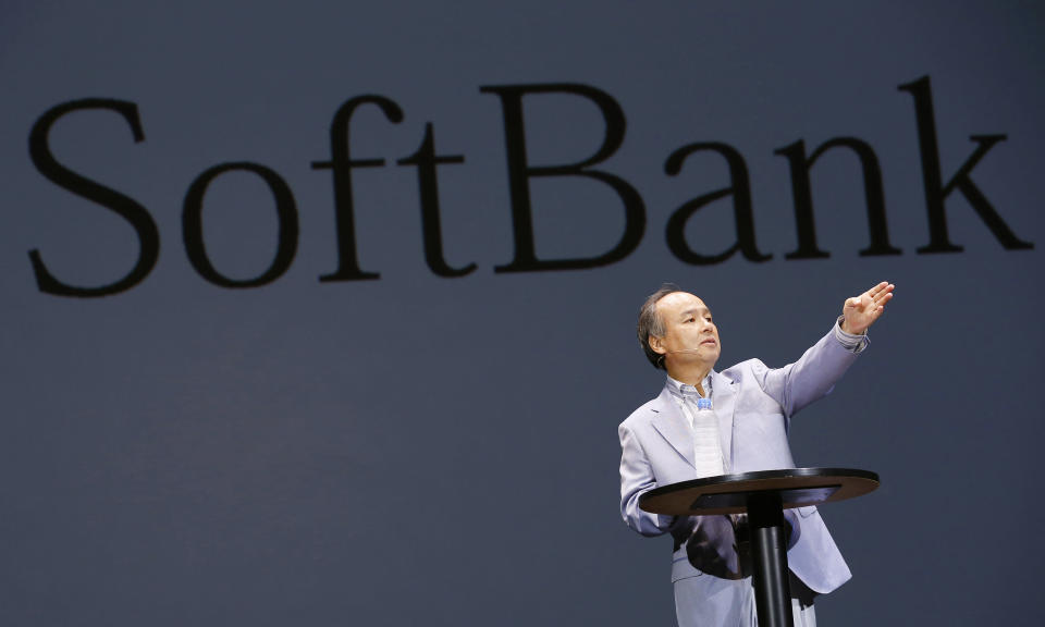 """SoftBank founder Masayoshi Son launched his """"Vision Fund"""" eyeing global investments into the technology sector to accelerate SoftBank's growth. Here's what he's found. (AP Photo/Shizuo Kambayashi, File)"""