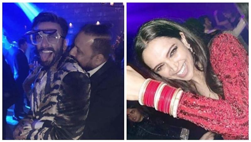Deepika Padukone and Ranveer Singh Were At Their Craziest Best at Their Mumbai Reception - See ALL INSIDE Pics and VIDEOS