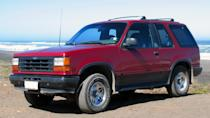 <p>With four-wheel drive capability, a used 1991 Ford Explorer XL can be found for $2,450. With a cloth interior and sleek bronze exterior, this vehicle is a crowd-pleaser for manual enthusiasts.</p>