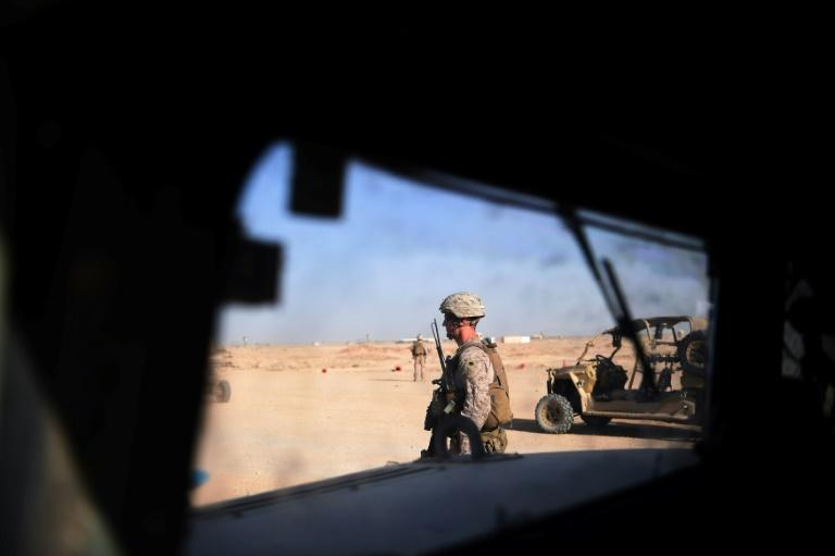A new death has brought to at least 15 the number of members of the US military killed in action in Afghanistan this year, just as Washington is seeking a way out of its longest war; a August 27, 2017 file image