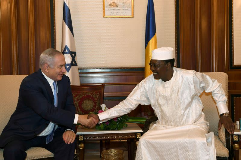 Netanyahu and Chad official discuss possible exchange of envoys - Israeli statement