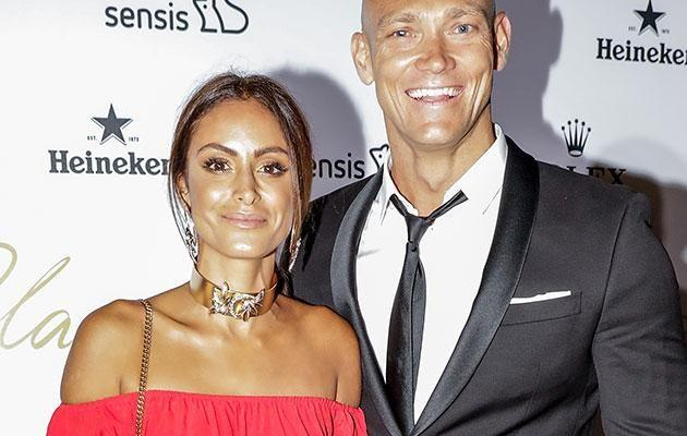 Michael Klim and his new love Desiree Deravi. Source: Getty