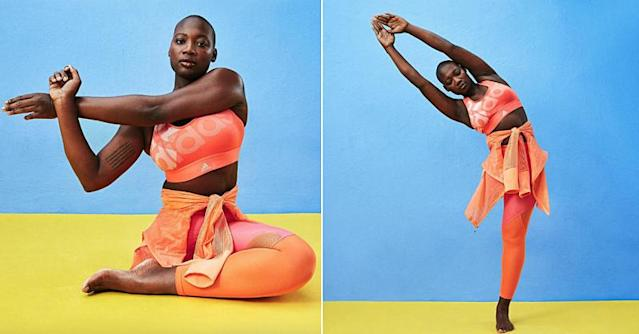 Model Mama Cāx is featured in ASOS's new ads. (Photo: Courtesy of ASOS)