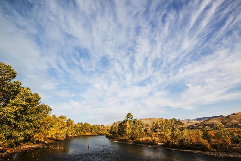 Fly fishingon the Boise River. (vkbhat via Getty Images)