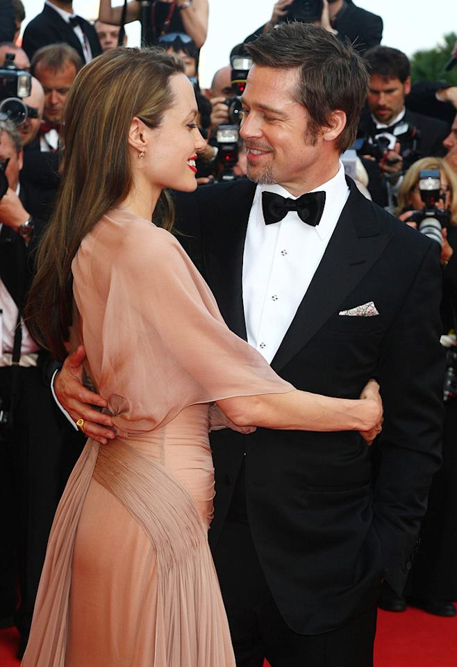 "<a href=""http://movies.yahoo.com/movie/contributor/1800019275"">Angelina Jolie</a> and <a href=""http://movies.yahoo.com/movie/contributor/1800018965"">Brad Pitt</a> at the 62nd Annual Cannes Film Festival premiere of <a href=""http://movies.yahoo.com/movie/1808404206/info"">Inglourious Basterds</a> - 05/20/2009"