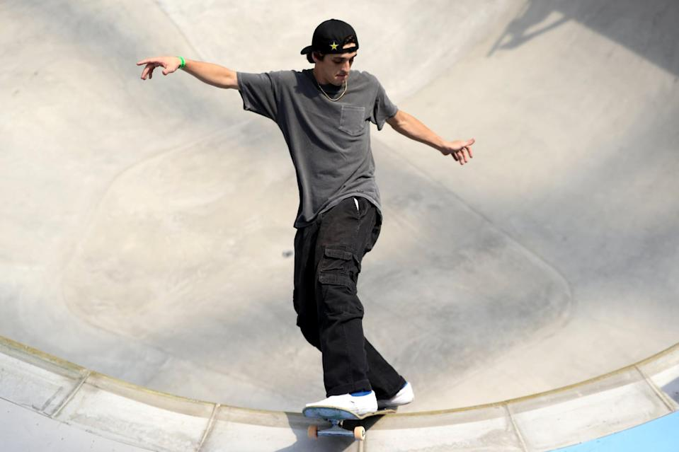 """<p>Along with being a member of the USA Skateboarding national team, Juneau is also on the <a href=""""http://www.vansparkseries.com/skaters/669/cory-juneau"""" class=""""link rapid-noclick-resp"""" rel=""""nofollow noopener"""" target=""""_blank"""" data-ylk=""""slk:Vans Skateboarding Roster"""">Vans Skateboarding Roster</a>. For more about Cory, check out <a href=""""http://usaskateboarding.com/blogs/2020-usa-skateboarding-national-team/cory-juneau-mens-park"""" class=""""link rapid-noclick-resp"""" rel=""""nofollow noopener"""" target=""""_blank"""" data-ylk=""""slk:his USA Skateboarding profile."""">his USA Skateboarding profile.</a></p> <p><strong>Olympic Team</strong>: Men's Skateboard Park</p> <p><strong>Age:</strong> 22</p> <p><strong>Hometown:</strong> San Diego</p> <p><strong>Instagram: </strong><a href=""""http://instagram.com/coryjuneau"""" class=""""link rapid-noclick-resp"""" rel=""""nofollow noopener"""" target=""""_blank"""" data-ylk=""""slk:@coryjuneau"""">@coryjuneau</a></p>"""