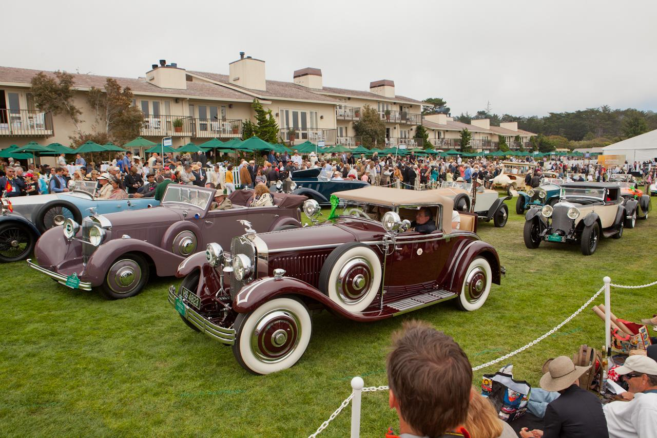 2012 pebble beach concours d 39 elegance for Pebble beach collection
