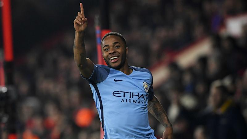 Bournemouth Manchester City Sterling