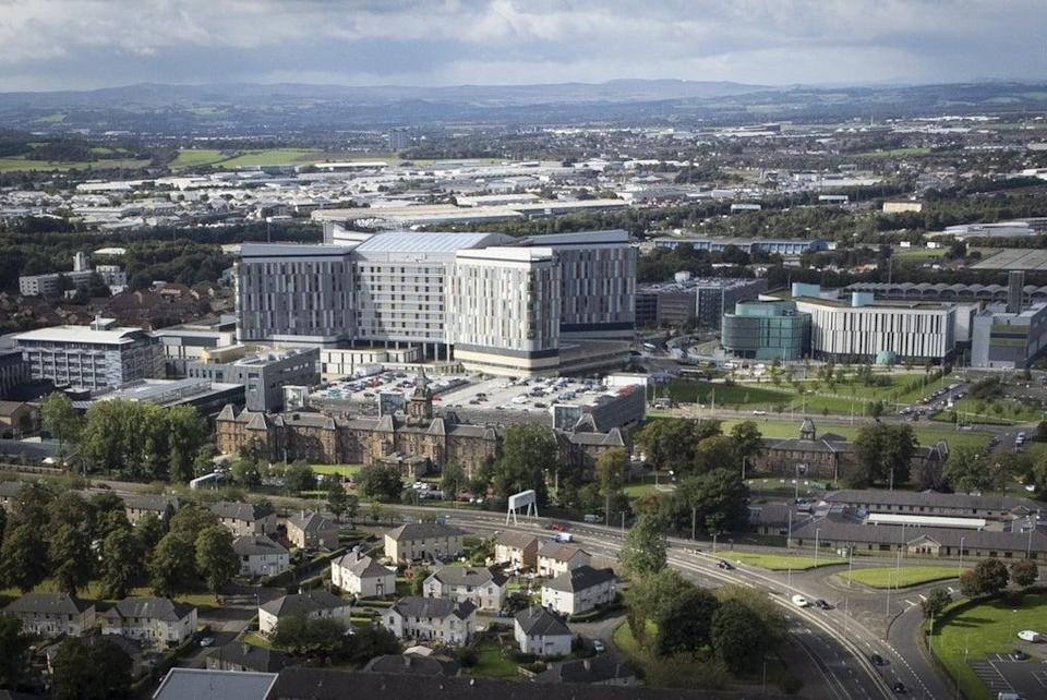 The inquiry is looking at the Queen Elizabeth University Hospital (Jane Barlow/PA) (PA Wire)