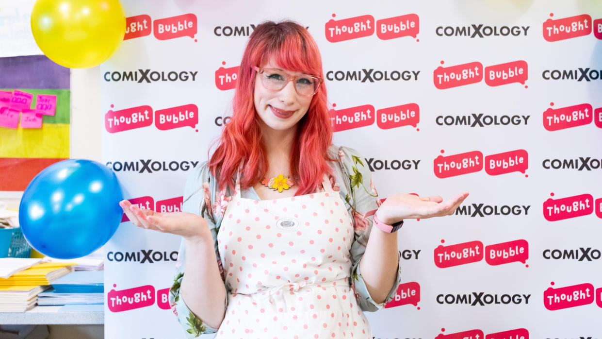 Kim-Joy Hewlett finished as a runner-up in the 2018 series of 'The Great British Bake Off. (Andrew Benge/Redferns)
