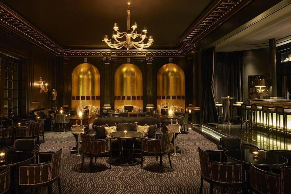 Quite the hangover: The Beaufort Bar at the Savoy offers the world's oldest rum