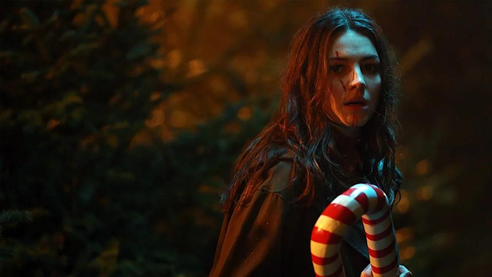 Scottish director John McPhail delivers a Christmas movie, a high school musical and a zombie apocalypse tale all rolled into one. It's gloriously gory and surprisingly sweet, with killer tunes. (Credit: Vertigo Releasing)