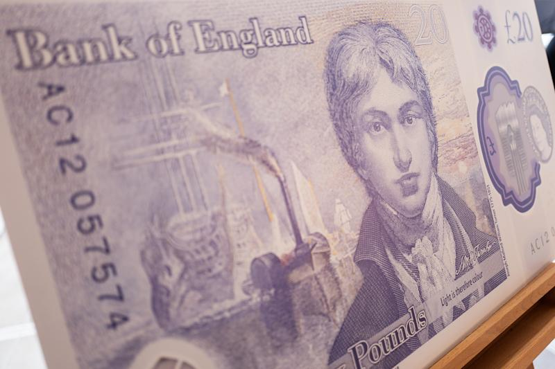New polymer £20 featuring painter Turner enters circulation