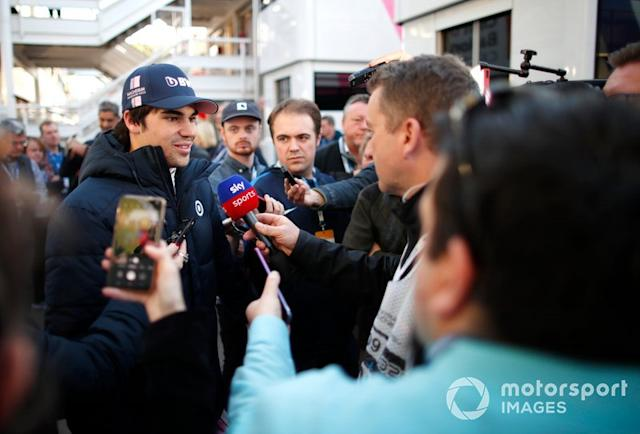"""Lance Stroll, Racing Point <span class=""""copyright"""">Zak Mauger / Motorsport Images</span>"""