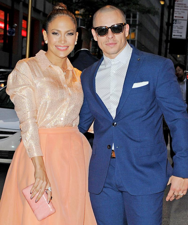 dddf4f1ddf5 Jennifer Lopez and Casper Smart Break Up—Look Back at Their Cutest Couple  Moments