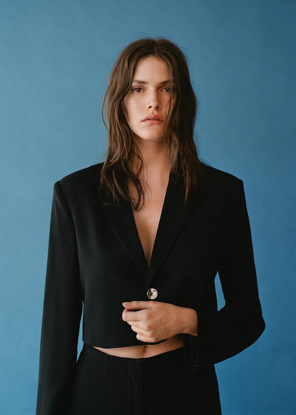 <p>Take your office uniform to the next level with this <span>Cropped Blazer</span> ($100), which has a modern silhouette and a put-together look. You'll feel in charge and ready to ask for that promotion.</p>