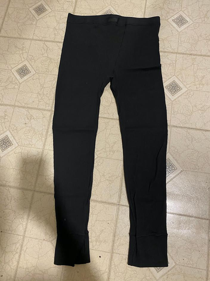 skims cotton collection leggings