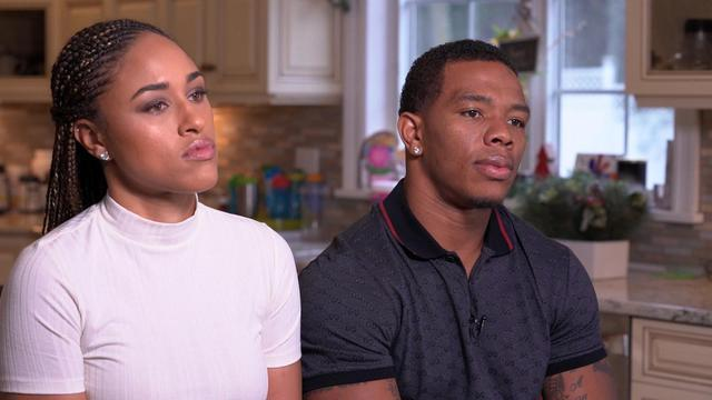 Janay and Ray Rice spoke on Rice's 2014 domestic violence incident that cost him his career. (Getty)