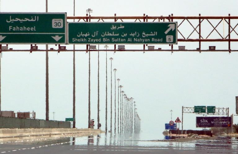 """Last week, Kuwait announced a nationwide """"total"""" lockdown until May 30, suspending all but essential private and public sector activities (AFP Photo/YASSER AL-ZAYYAT)"""