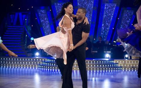 John Barnes on Strictly Come Dancing in 2007 - Credit: bbc