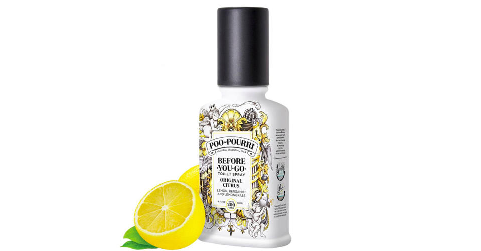 Poo-Pourri Before-You-Go Toilet Spray (Photo: Amazon)