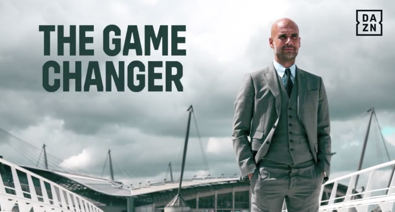 DAZN The Game Changer Guardiola