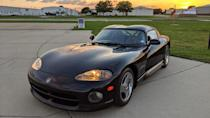 "<p>Somebody had to do it, right? I know, <a href=""https://www.autoblog.com/cars-for-sale-detail--7604904425589642672-Dodge-Viper-1995"" rel=""nofollow noopener"" target=""_blank"" data-ylk=""slk:a 1995 Dodge Viper R/T 10"" class=""link rapid-noclick-resp"">a 1995 Dodge Viper R/T 10</a> is not the most desirable of Vipers out there, but it's still a Viper. And really, the V10 monster needs no more explanation.</p> <p>You've likely given it the passing thought, or laughed about it in the past. But acting on the childish urge to buy a Viper is a lot tougher than thinking about. Hopefully the knowledge that a Viper is the same price as the average new car should be the push over the edge you needed. When your coworkers question your sanity, just point at their base Ford Explorer and tell them that you two spent the same amount of money. See? The Viper is a responsible purchase.</p> <p>Accept the utterly horrendous ergonomics and lack of any amenities. There's a V10 under the hood, and that's what matters. As an added bonus, you'll even be getting better fuel economy (11/20/14 mpg) than the folks who run out and buy a <a href=""https://www.autoblog.com/2020/10/23/ram-1500-trx-hellcat-fuel-economy/"" rel=""nofollow noopener"" target=""_blank"" data-ylk=""slk:Ram 1500 TRX"" class=""link rapid-noclick-resp"">Ram 1500 TRX</a>. Checkmate? <strong>— Road Test Editor Zac Palmer</strong></p>"