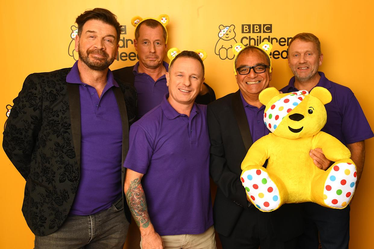 Nick Knowles won't be taking part in the DIY SOS Children in Need special. (Photo by Dave J Hogan/Getty Images)
