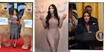 "<p>Ever since<a href=""https://www.elle.com/uk/life-and-culture/a34297754/kim-kardashian-crying-david-letterman-my-next-guest/"" rel=""nofollow noopener"" target=""_blank"" data-ylk=""slk:Kim Kardashian"" class=""link rapid-noclick-resp""> Kim Kardashian </a>burst onto the scene, bringing her loud, forthright and unconventional family with her, people have routinely liked to question: 'Why is she famous?' </p><p>It's a fact that the reality star and her <a href=""https://www.cosmopolitan.com/entertainment/tv/a27018424/kim-kardashian-explain-how-she-got-famous-to-north-west-keeping-up-with-kardashians/"" rel=""nofollow noopener"" target=""_blank"" data-ylk=""slk:eldest daughter North West"" class=""link rapid-noclick-resp"">eldest daughter North West</a> have even acknowledged, despite the fact the Californian-born star has been recognised by Forbes as having a billionaire status - yep, more on that below - a beauty line, lingerie label, a reality TV empire, and justice reform influence attached to her recognisable name. </p><p>Whatever your opinion of Kardashian, she has capitalised on the opportunities she's been given and worked hard to build on them to develop multi-million dollar businesses, while successfully dominating the public and media consciousness for around 14 years - a status that many reality stars before and after her have failed to do.</p><p>ELLE UK has taken a trip down memory lane for some of the 40-year-old's most infamous, shocking and pretty incredible moments in her varied career path. Remember her single, 'Jam'? You're welcome.</p>"