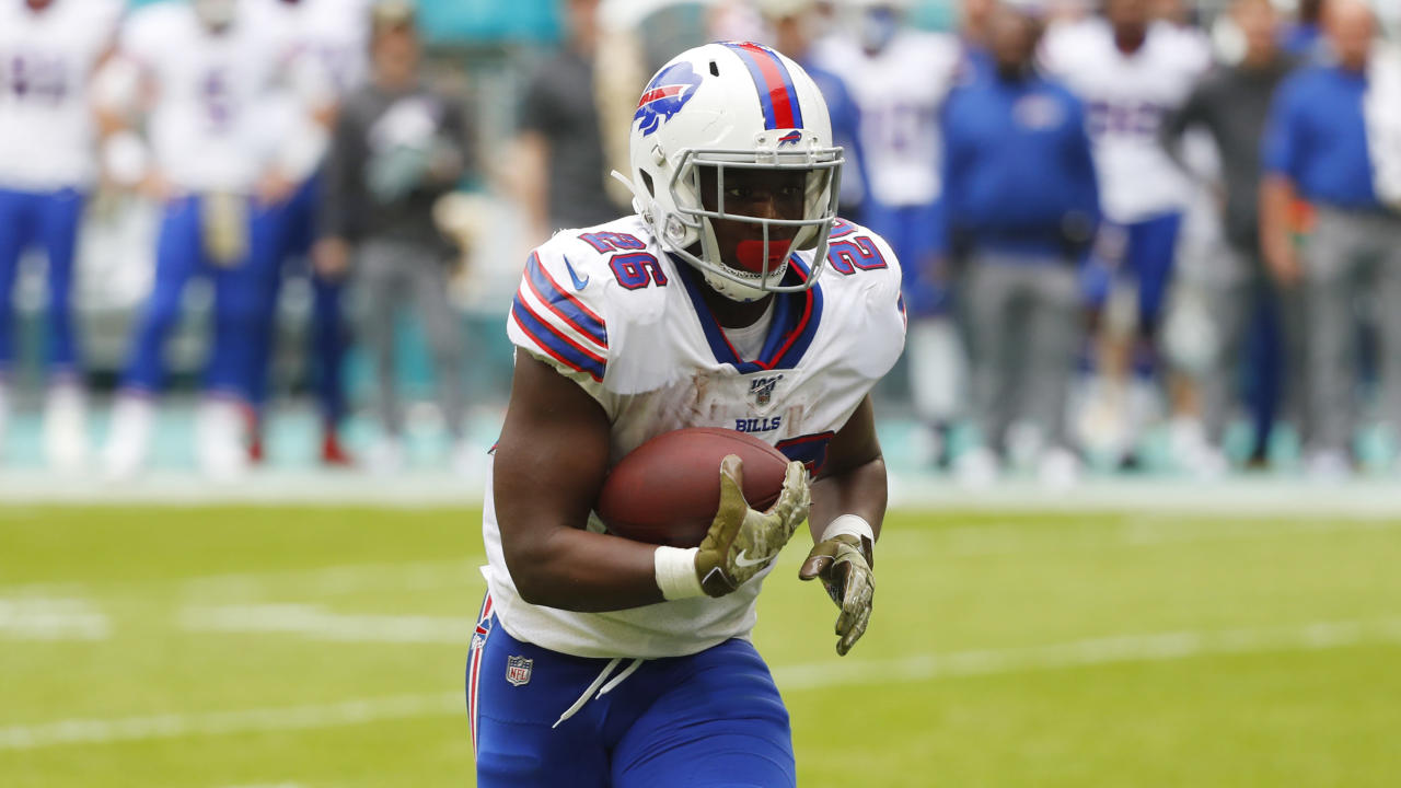 Bills' Devin Singletary recalls the time he and MVP candidate Lamar Jackson faced off as pee wee players