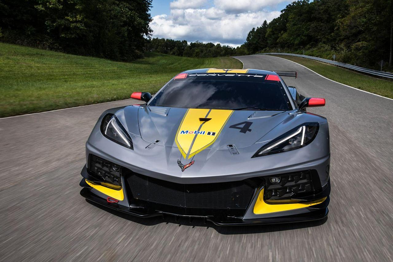 View Photos of the Chevrolet Corvette C8.R