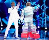"""<p>First you have to clock in long hours in the studio and rehearsals, then taping one episode takes <a href=""""https://www.goodhousekeeping.com/life/entertainment/a30677487/masked-singer-season-3-taping-experience/"""" rel=""""nofollow noopener"""" target=""""_blank"""" data-ylk=""""slk:five hours"""" class=""""link rapid-noclick-resp"""">five hours</a>, if not more.</p>"""