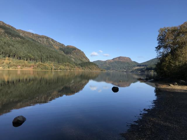 A 10-year-old boy died after getting into difficulties in Loch Lubnaig on the hottest day of the year. (Getty)