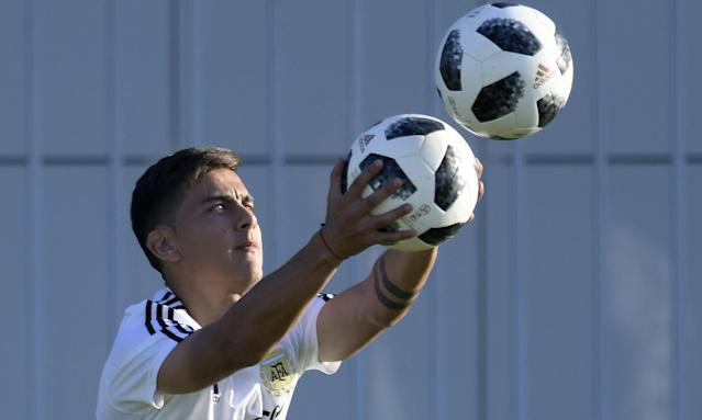 Argentina and Juventus's forward Paulo Dybala: off to Anfield?