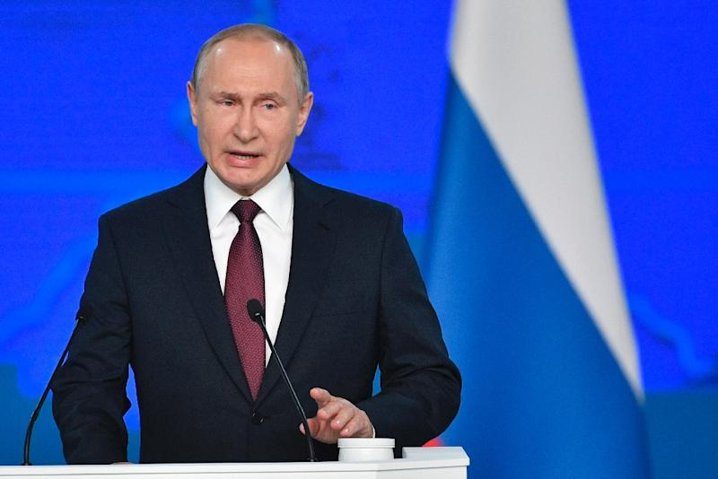 USA dismisses Putin remarks as 'propaganda'