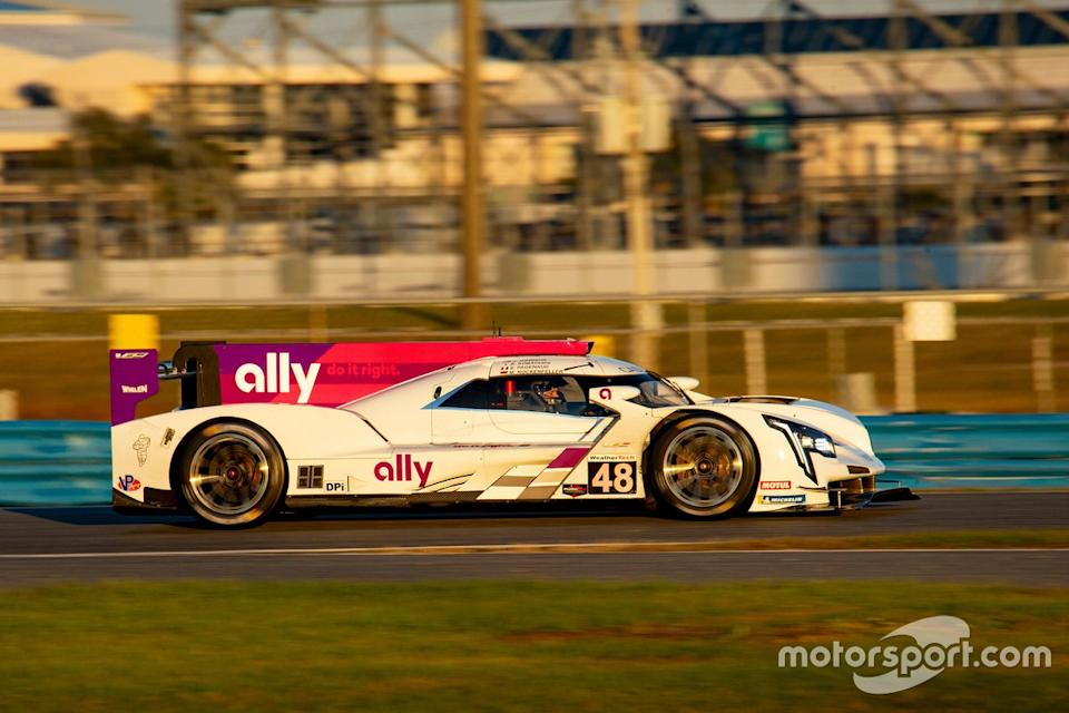"""#48 Action Express Racing/Ally Cadillac DPi-V.R: Jimmie Johnson, Mike Rockenfeller, Simon Pagenaud<span class=""""copyright"""">Brian Cleary</span>"""