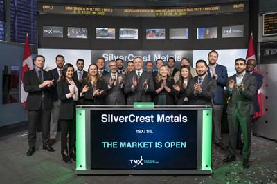 SilverCrest Metals Inc. Opens the Market (CNW Group/TMX Group Limited)
