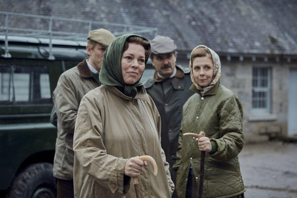 Olivia Colman played the monarch in seasons three and four of 'The Crown'. (Sophie Mutevelian/Netflix)