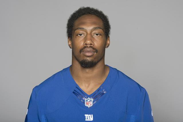This is a 2013 photo of Will Hill of the New York Giants NFL football team. This image reflects the New York Giants active roster as of Monday, June 10, 2013 when this image was taken. (AP Photo)