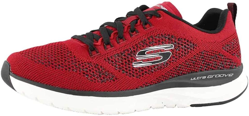 Skechers Mens Ultra Groove - Royal Dragoon Sneakers. Image via Amazon.