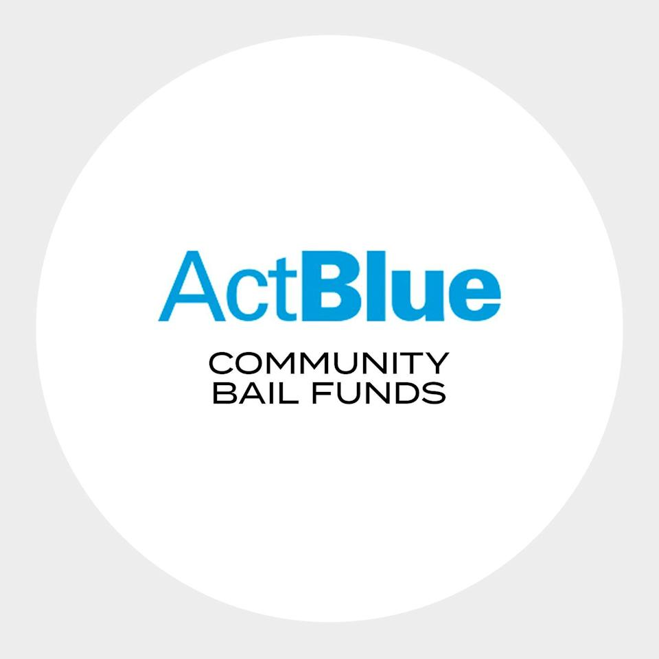 """<p>""""Donating through <a href=""""https://secure.actblue.com/donate/bail_funds_george_floyd"""" rel=""""nofollow noopener"""" target=""""_blank"""" data-ylk=""""slk:this secure platform"""" class=""""link rapid-noclick-resp"""">this secure platform</a> is an easy way to support protestors nationwide. The site equally divides your donation between 38 community bail funds or allows you to allocate a desired amount to each fund.""""</p><p><a class=""""link rapid-noclick-resp"""" href=""""https://secure.actblue.com/donate/bail_funds_george_floyd"""" rel=""""nofollow noopener"""" target=""""_blank"""" data-ylk=""""slk:Donate Here"""">Donate Here</a></p>"""