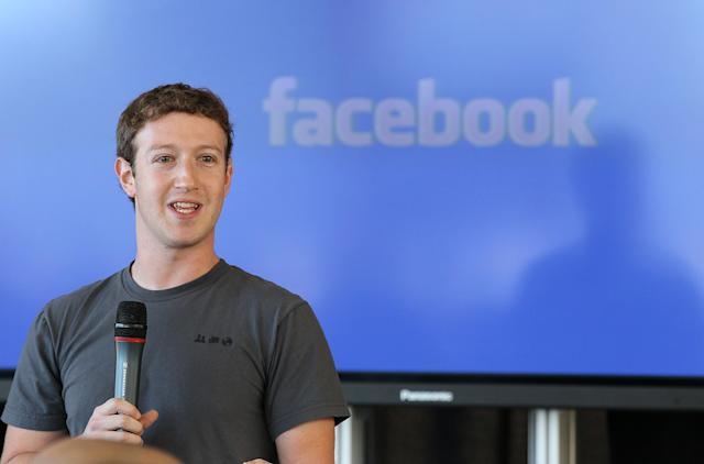 Mark Zuckerberg's Facebook has gained inspiration from other companies. Justin Sullivan/Getty Images